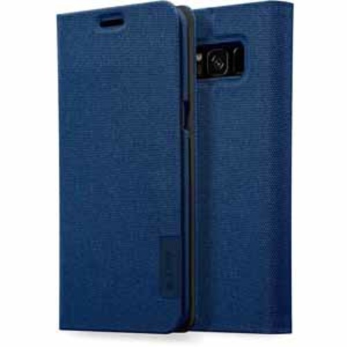 Laut Apex Knit Versatile Folding Stand Case for Samsung Galaxy S8 - Indigo