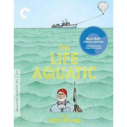 The Life Aquatic With Steve Zissou [Criterion Collection] [Blu-ray] [2004]