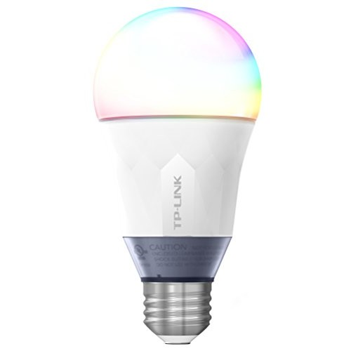 TP-Link Smart LED Light Bulb, Wi-Fi, Dimmable White, 50W Equivalent, Works w/ Amazon Alexa and Google Assistant, 3-Pack (LB100 TKIT)