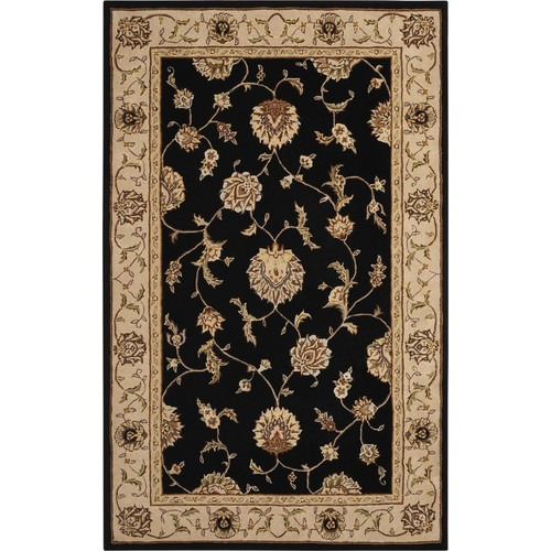 Nourison Silk Touch Collection Sch05 5' X 8' Area Rug