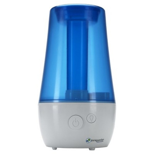 PureGuardian H965 70-Hour Ultrasonic Cool Mist Humidifier, Table Top, 1-Gallon