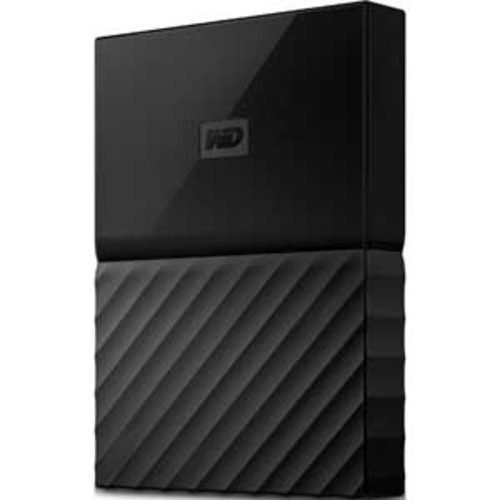 WD 1TB Black My Passport Portable External Hard Drive - USB 3.0 : WDBYNN0010BBK-WESN
