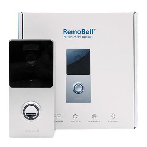 Olive & Dove - Wireless Smart Video Doorbell - Silver