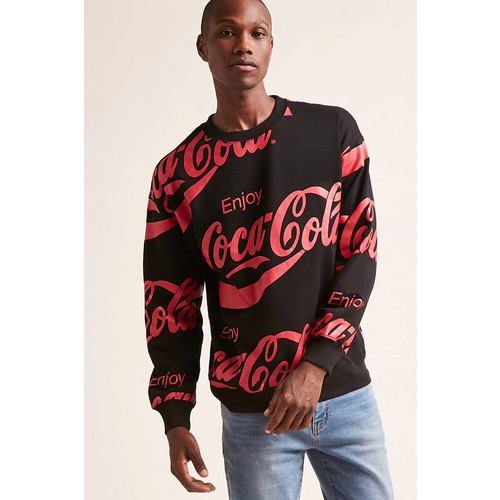 Coca Cola Graphic Sweatshirt
