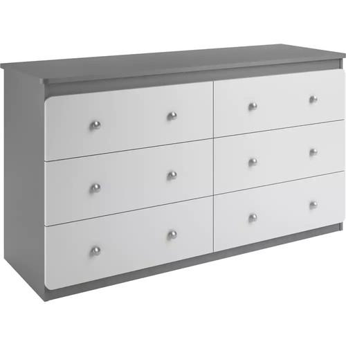 Cosco Willow Lake 6-Drawer Dresser