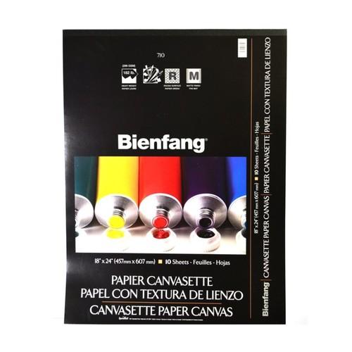 Bienfang Canvasette Paper Canvas, 18