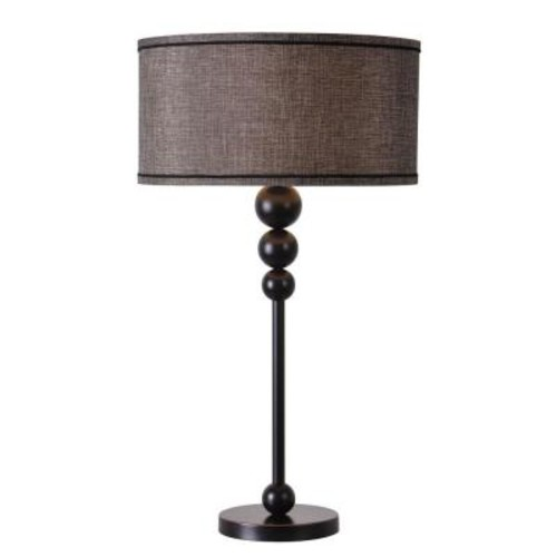 Kenroy Home Margot 30 in. Bronze Table Lamp