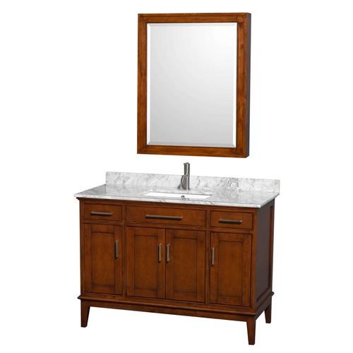 Hatton Collection 48 in Single Bathroom Vanity in Light Chestnut [WCV161648SCLCXSXXMXX]