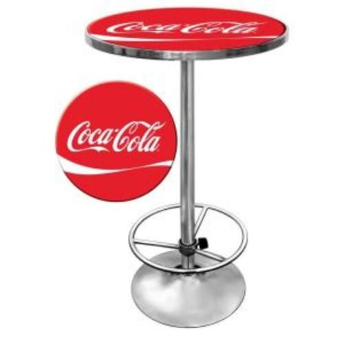 Trademark Coca-Cola Chrome Pub/Bar Table