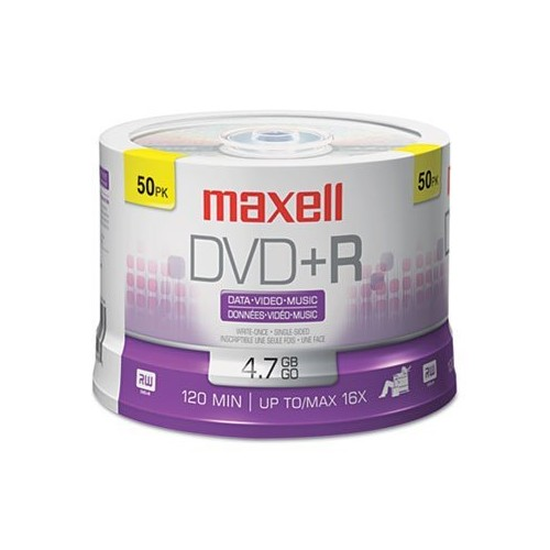 Maxell 639013 4.7Gb Dvd+R Spindle [1-Pack]