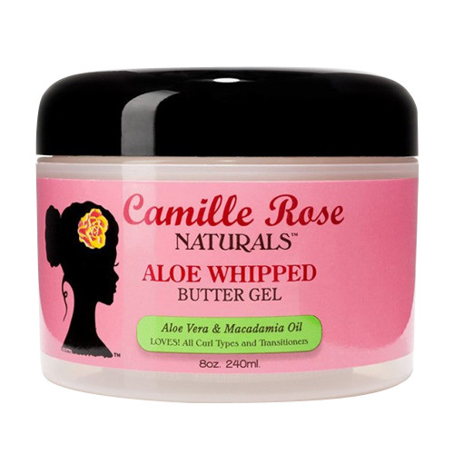 Camille Rose Naturals Aloe Whipped Hair Butter Gel, 8 Oz