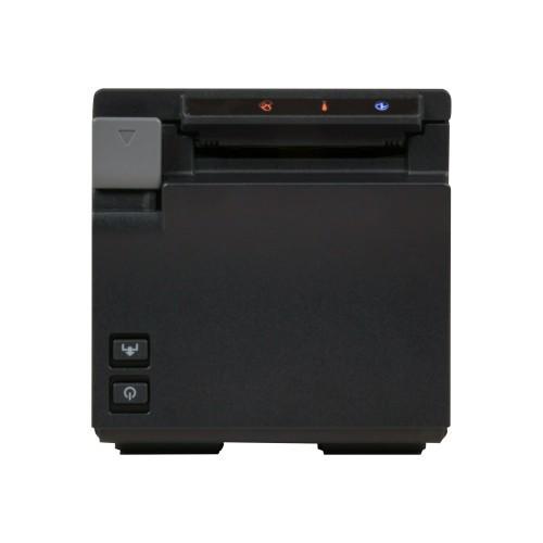 Epson TM m10 - Receipt printer - thermal line - Roll (2.3 in) - 203 dpi - up to 354.3 inch/min - USB, LAN, Wi-Fi(n) - black (C31CE74032)