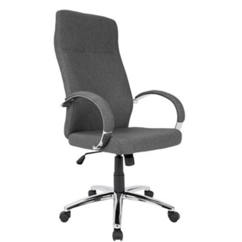 Lumisource Ambassador Contemporary Fabric Office Chair, Gray (OFC-AC-AMB GY)
