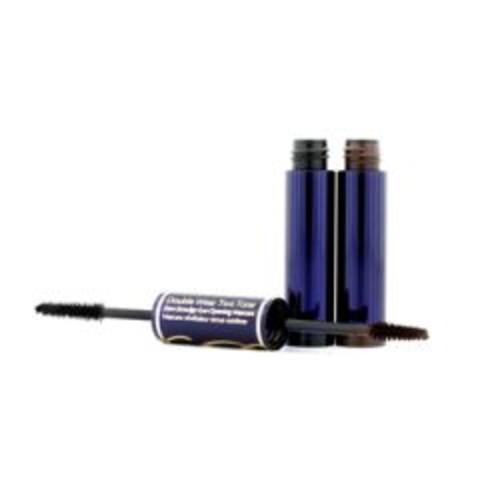 Estee Lauder Double Wear Two Tone Zero Smudge Eye Opening Mascara - # 01 Bold Black/Rich Brown