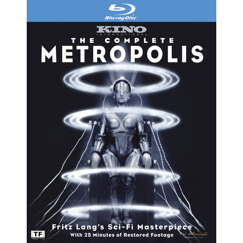 The Complete Metropolis (Blu-ray Disc)