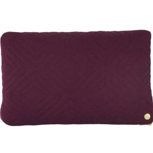 Quilt Cushion in Bordeaux design by Ferm Living