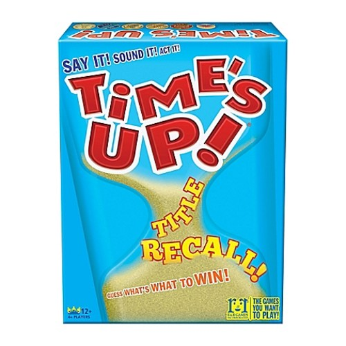 R And R Games Time's Up Title Recall