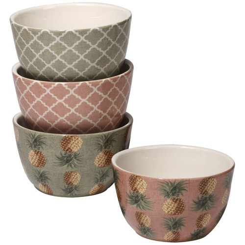 Certified International Wine and Cheese Party Soup/Pasta Bowl (Set of 4)
