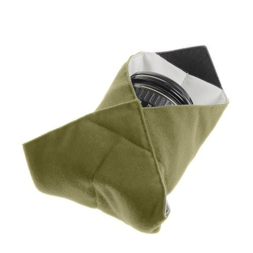 Tenba Messenger 10in Portable Protective Wrap for Lenses - Olive (638-262) : Photographic Equipment Bag Accessories : Camera & Photo
