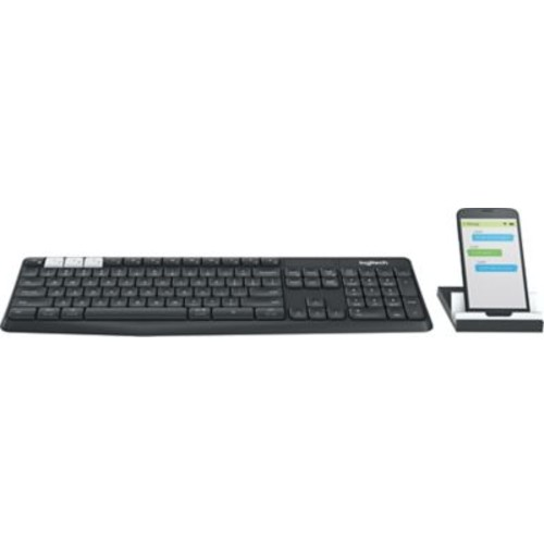 Logitech K375s Multi-Device Wireless keyboard and Stand Combo (920-008165)