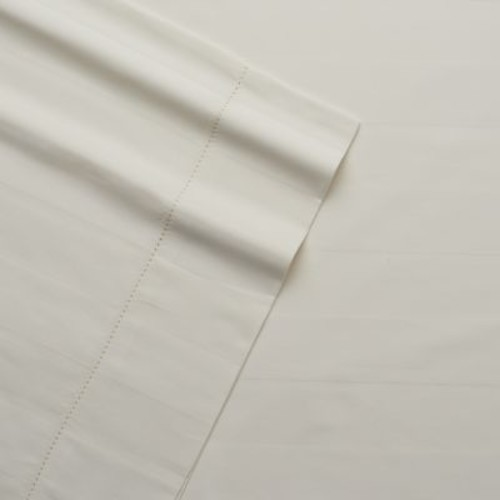 Grand Collection Tuxedo Hemstitch 325 Thread Count Stripe Sheet Set