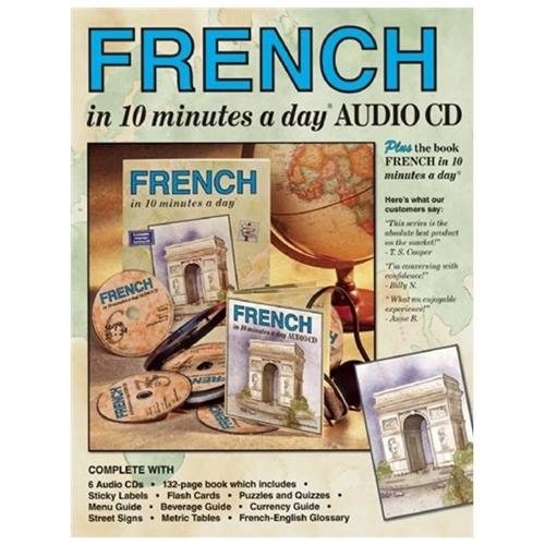 FRENCH in 10 minutes a day AUDIO CD (CompactDisc)