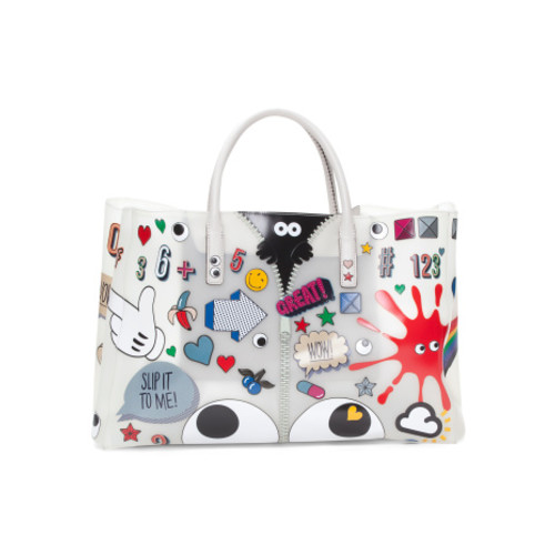 ANYA HINDMARCH Made In Italy Ebury Allover Stickers Tote