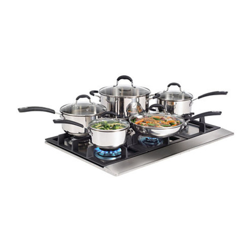 Starfrit 10-pc. Aluminum Non-Stick Cookware Set