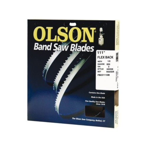 Olson 111 in. L x 1/2 in. W Band Saw Blade(FB23111DB)