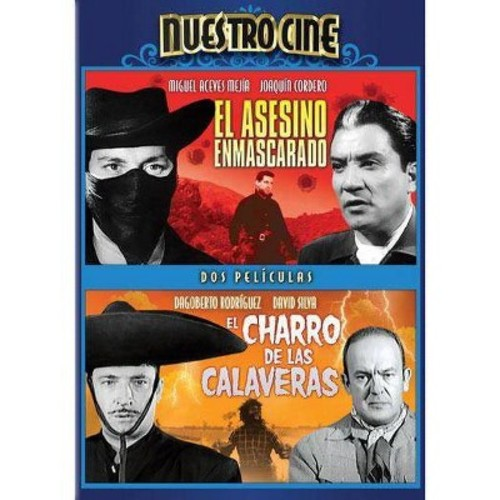 El Asesino Enmascarado/El Charro de las Calaveras [DVD]