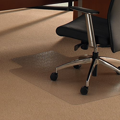 Floortex Ultimat Polycarbonate Chair Mat for Carpets Over 1/2