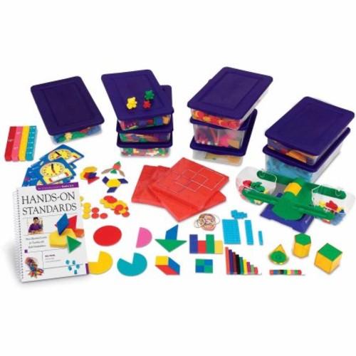 Learning Resources Hands-On Standards Handbook & Manipulatives Kit: Grades 3-4