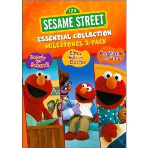 Sesame Street Essential Collection: Milestones [3 Discs] [DVD]
