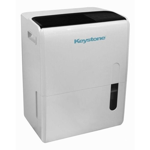 Keystone KSTAD957PA Energy Star 95 Pt. Dehumidifier with Built-In Pump - White