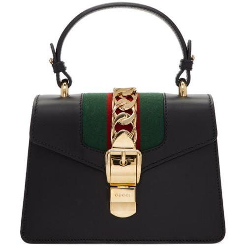 Black Mini Sylvie Bag