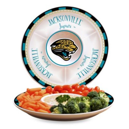 NFL Jacksonville Jaguars Game Day Chip and Dip Server