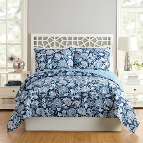 Traveler Floral Quilt Full/Queen