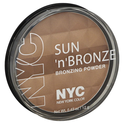 York Color Bronzer Powder Pressed Sun nu0026#8217; Bronze
