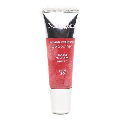 Neutrogena MoistureShine Lip Soother with SPF 20, Shine