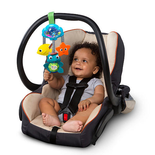 Baby Einstein Musical Glow and Go Take-Along Toy