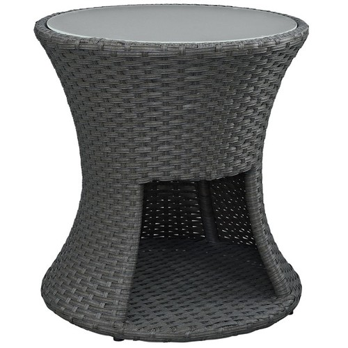 Modway Outdoor Coffee & Side Tables Stopover Outdoor Patio Side Table