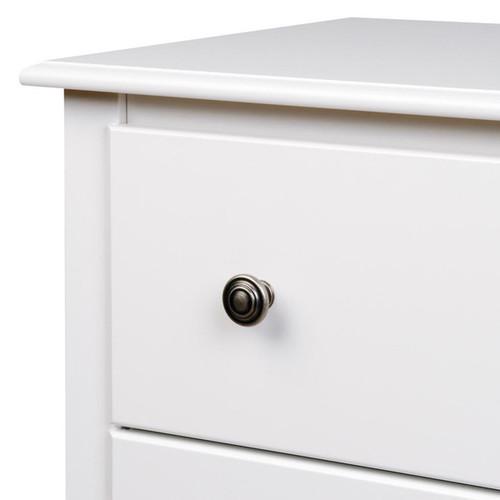 Prepac Armoires & Wardrobe Closets Winslow White 2-drawer Armoire