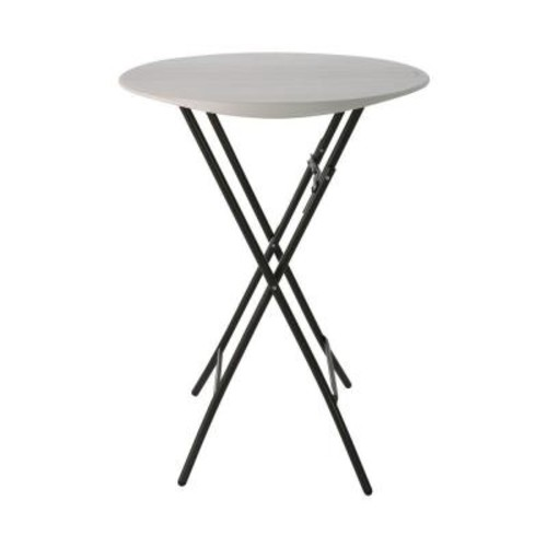 Lifetime Almond Bistro Folding Table