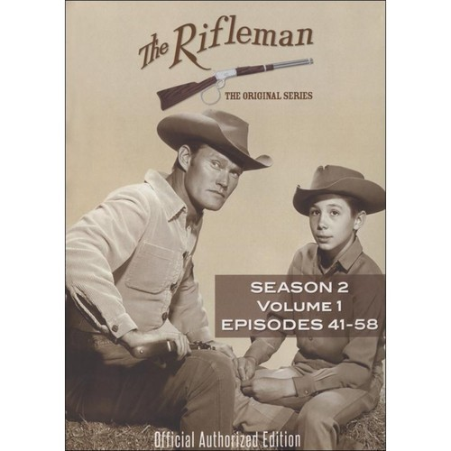 The Rifleman: Season 1, Vol. 2 [4 Discs] [DVD]