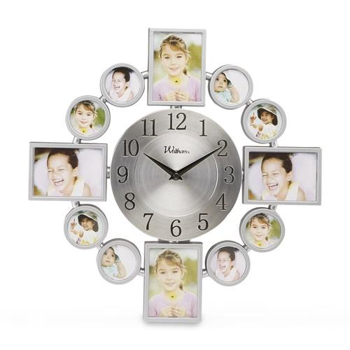 Waltham Photo Collage Wall Clock