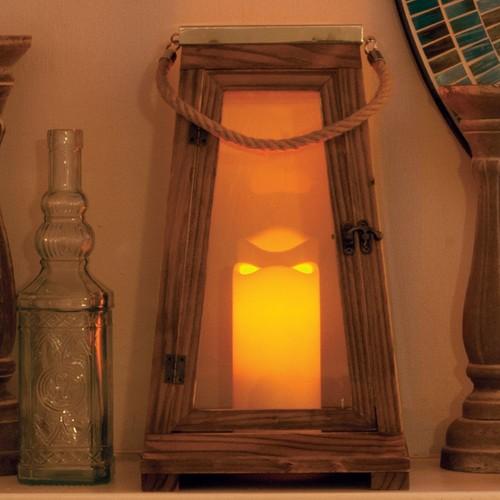 port LED Candle Lantern