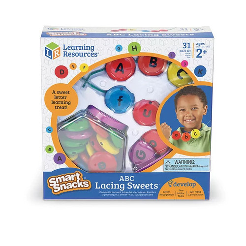 Learning Resources Pretend Play Abc Lacing Sweets