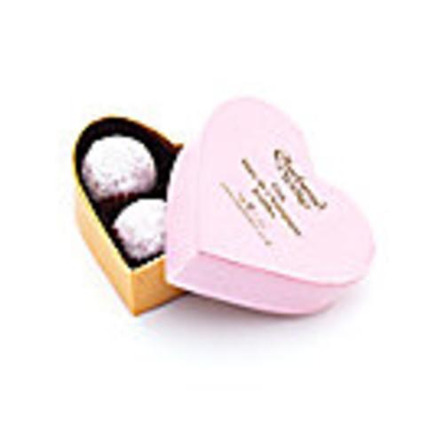 Pink Marc de Champagne Mini Heart