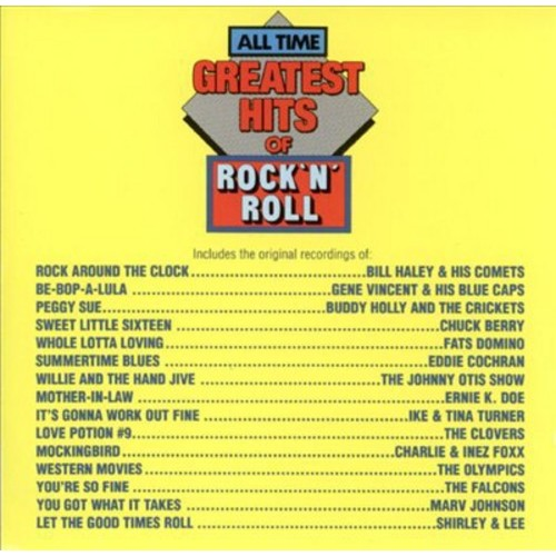 All-Time Greatest Hits of Rock & Roll, Vol. 1 [CD]