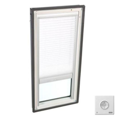 VELUX Solar Powered Light Filtering White Skylight Blinds for FS C01 Models